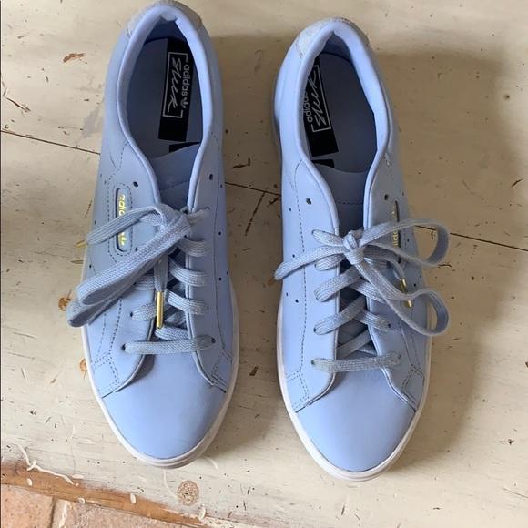 adidas Shoes | Sleek Periwinkle Size 9